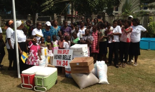 Hennri Belle U Douali  - humanitarnu akciju pomogao i Slaven Žužul